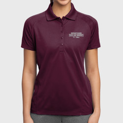 Spartan Mom Dri-Mesh Polo