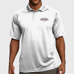 Spartan Dad Dri-Mesh Polo