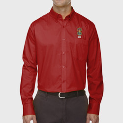 Spartan Dad LS Twill Shirt