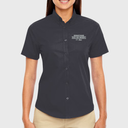 Spartan Mom SS Twill Shirt