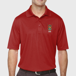 Spartan Dad Performance Polo