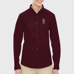 Spartan Mom LS Twill Shirt